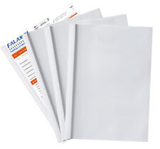 Thermobindemappen A4 3mm für 30 Blatt weiß Thermobindegeräte Einband Expose