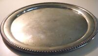 FRANK WHITING & CO VINTAGE STERLING 12-inch TRAY