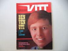 VITT 17/1967 SERVIZI ROBERTO CHEVALIER - NINO BENVENUTI