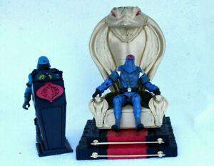 Gi joe 3d printed Throne & Podium   cobra commander destro for 3.75 inch figures
