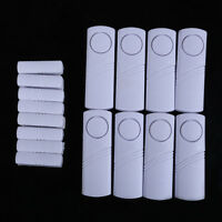 New 1/10pcs Home Security Wireless Magnetic Sensor Window Door Burglar Alarm XXF