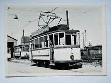 HALLE Germania TRAM tramway Straßenbahn treno vecchia foto 6