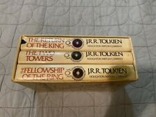 LORD OF THE RINGS 1965 1ST EDITION REVISED HARDCOVER BOOK BOX SET TOLKIEN