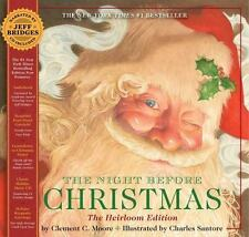 The Night Before Christmas Classic Heirloom Edition, NEW