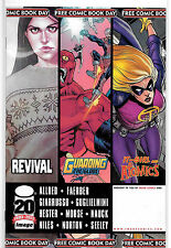 Image Comics FCBD 2012 Featuring Revival. Revival Movie Coming Soon NM