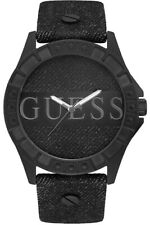 Guess Mens Wrist Band Watch W1240L1 Trooper XL Leather New