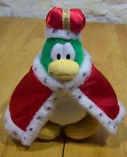 "Disney Club Penguin KING PENGUIN 8"" Plush STUFFED ANIMAL Toy"
