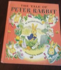 Old Vintage Children's Book The Tale Of Peter Rabbit By Beatrix Potter 1942