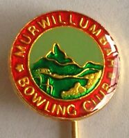 Murwillumbah Bowling Club Pin Badge Rare Vintage (L4)
