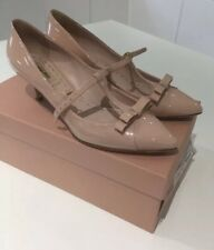 Miu Miu Nude Bow Shoes Pump Size 38.5