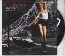 RIHANNA Umbrella 2 TRACK CARDslv CD SINGLE DEF JAM JAY-Z