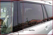 Fits Cadillac CTS 03-07 Royal Black Glossy Door Pillar Post Accessories B-Pillar