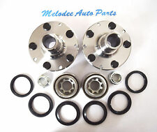 Rear Left & Right Wheel Hub & Bearing Set For SUBARU Impreza / Legacy / Forester