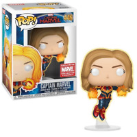 Captain Marvel – Captain Marvel Pop! GiTD [Collector Corps Exclusive]