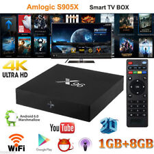 Android Box X96 S905X 4K*2K Smart TV BOX Quad-Core 1/8GB H.265 WIFI Media Player