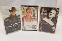 Country Cassette Tapes Set of 3 Tanya Tucker, Mindy McCready, Trisha Yearwood