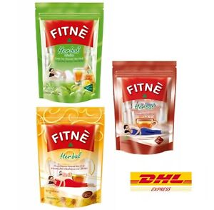 3 FITNE HERBAL INFUSION SLIMMING TEA DETOX LAXATIVE WEIGHT LOSS DIET ALL FLAVOR