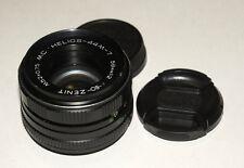 Russian USSR Helios Gelios 44M-7 2/58 M42 lens Carl Zeiss Biotar copy Good