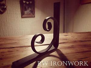 wrought iron shelf brackets (Handmade) 20cm £9.99 per bracket