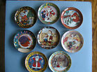 %22A+Mary+Engelbreit+Christmas%22+-+Complete+Set+of+8+Plates+from+the+Danbury+Mint+