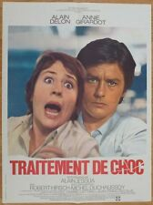 TRAITEMENT DE CHOC Delon Girardot 1973 Affiche Originale 60x80 Movie Poster