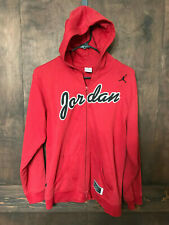 Air Jordan Jump Man Basketball Sport Zip Up Hoodie Sweatshirt Men/Boys  L 16/18
