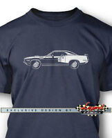 1971 Plymouth 'Cuda 440 Coupe Men T-Shirt - Multiple Colors Sizes - American Car