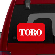 "LARGE - TORO Logo - 11"" Tractor Implement Cart Mower Logo / Decal / Sticker"