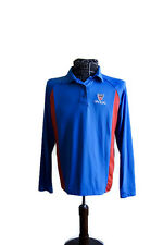 Tennis Official Pullover Shirt Unisex Size S USTA Honig Whistle Stop Long Sleeve