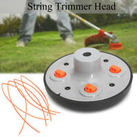 Universal 4 Line Bump Speed Feed String Trimmer Head Gasoline Mower Brush Cutter