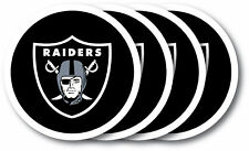 Oakland Raiders Vinyl-Untersetzer Set (4 Stk.) NFL