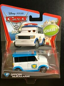 Disney Pixar Cars 2 CHASE  Officer Murakarmi  #32  FREE SHIP