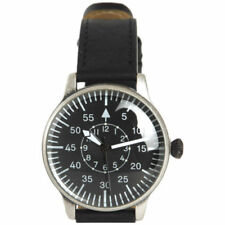 Orologi da polso militare con cronografo vera pelle
