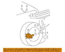 TOYOTA OEM 07-14 FJ Cruiser Wiper-Rear Window Motor 8513035091