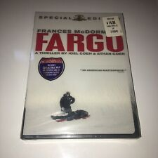 Fargo (Dvd, 2003, Special Edition) Brand New Sealed With Slipcover!