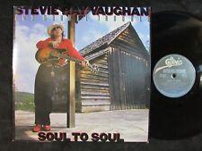 Stevie Ray Vaughan Soul To Soul Us Original Vinyl Lp blues rock Ex