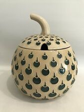 Jugendstil Apfel Design Bowle Art Nouveau Steinzeug Westerwald Art Deco 3L