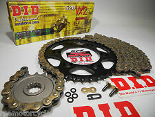 """BMW F650 '94-00 DID X-Ring CHAIN AND SPROCKETS KIT """"Premium""""  *OEM , Q.A. or Fwy"""