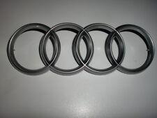 Audi Ringe Schriftzug Emblem für Motorabdeckung 1X 4H0103940 + 4X N  90962502