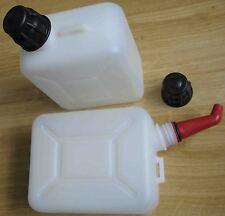 robuster 1 Ltr.-Motorrad-Reservekanister und Mischbehälter für Benzin + 2-Taktöl