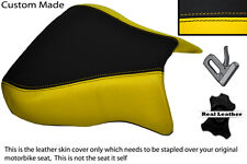 YELLOW& BLACK CUSTOM FITS APRILIA RSV 01-03 TUONO 04-05 1000 FRONT SEAT COVER