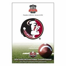 BCS Florida State vs. Auburn 2014 National Championship Game [DVD] NEU NFL NCAA
