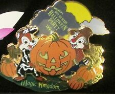 Disney Mickey's Not So Scary Halloween Party Chip and Dale Pumpkins Pin