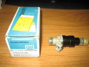 NOS GM 1986-1987 Oldsmobile Toronado Buick Riviera LeSabre V6 3.8L Fuel Injector