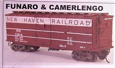 Funaro F&C Ho Nh 36' rebuilt Boxcar w /Steel Dr & Ends Billboard decals kit 5095