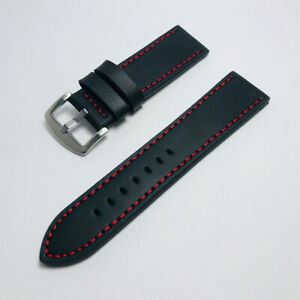 18/20/22/24mm Genuine Leather Writst Watch Band Replacement Straps Band s