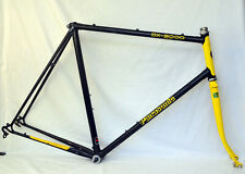 Panasonic DX-3000 Road Bike Frame 61cm Tange 900 Cro-Mo Japan Metallic Black