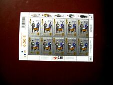 Finland Stamp Sheet of Centenary of Postal Union SG754 2005