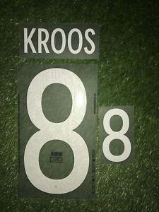 Toni Kroos Player Flock Set DFB Real Deutschland EM 20 / 21 wie Matchworn Trikot