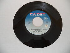 **It Was Fun (While it Lasted)**  THE WILDWEEDS  Cadet Records VG+ Northern Soul
